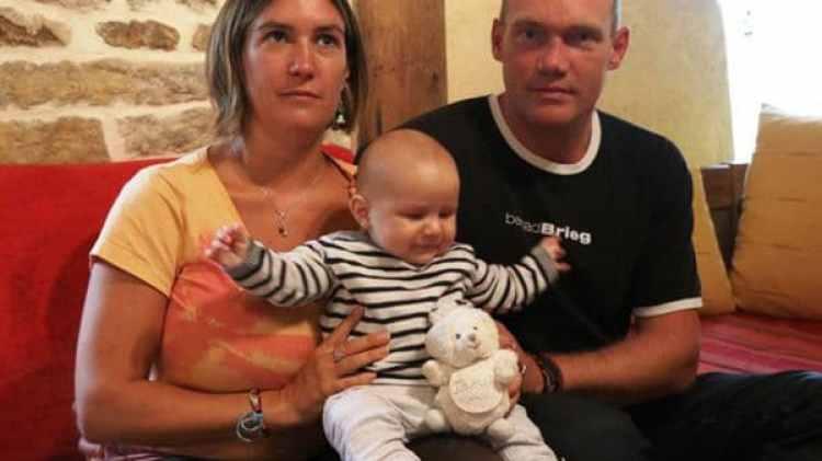Los padres del pequeño Fañch (Ouest-France)