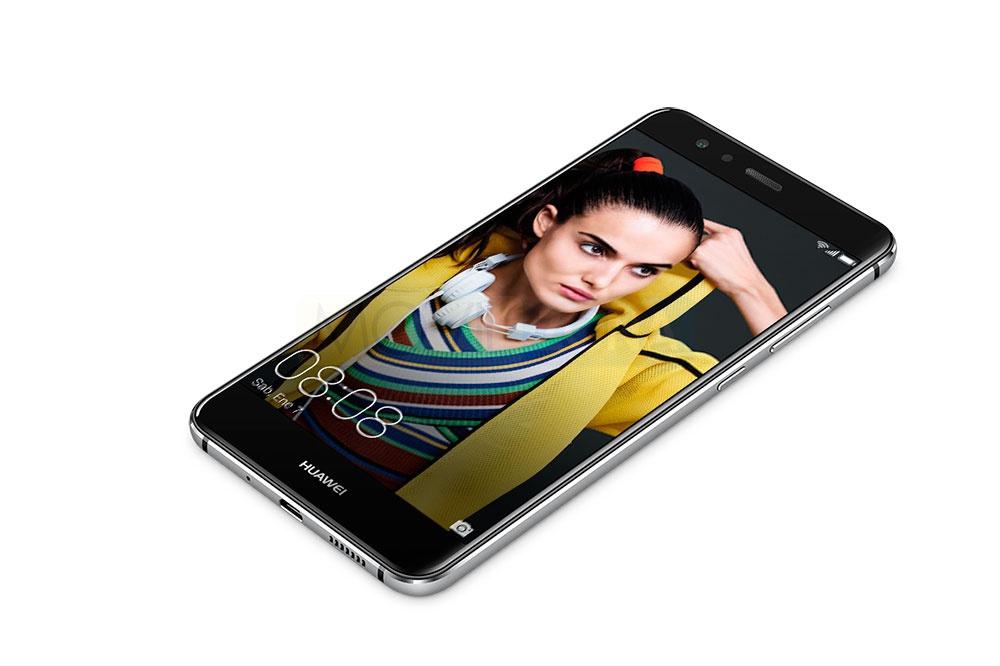 Huawei P10 Lite de frente