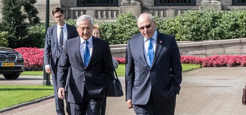 Canciller entregó dúplica por disputa marítima con Bolivia en La Haya