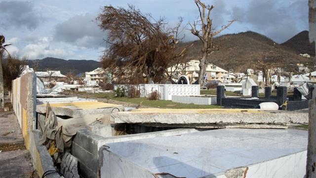 Los desastres después del huracán Irma