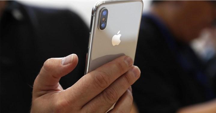 Carcasa trasera del iPhone X