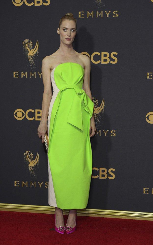 69th Primetime Emmy Awards – Arrivals – Los Angeles, California, U.S., 17/09/2017 - Mackenzie Davis. REUTERS/Mike Blake