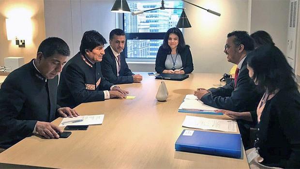 Morales respalda apertura de diálogo en Venezuela
