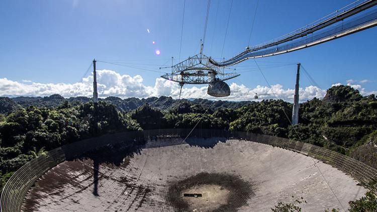 El segundo radiotelescopio más grande del mundo cierra ante la amenaza del huracán María