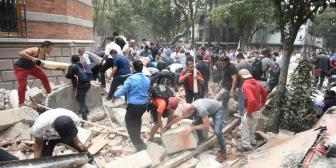 47 muertos tras el terremoto en México