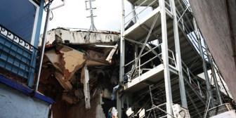 Videos: El fuerte terremoto en México, visto desde el interior de distintos edificios