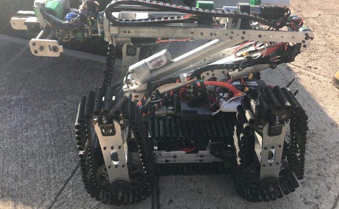 El robot que ayuda a salvar a las víctimas del terremoto en México