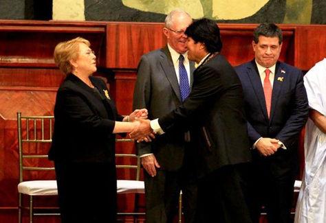 Evo Morales envió un fuerte mensaje a Chile tras la demanda marítima
