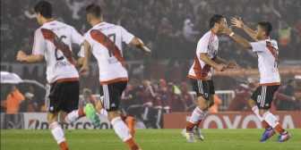 Los goles de River ante Jorge Wilstermann en el Monumental
