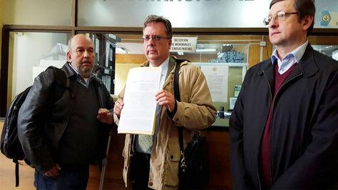 Arturo Murillo, Carlos Alarcón y Oscar Ortiz