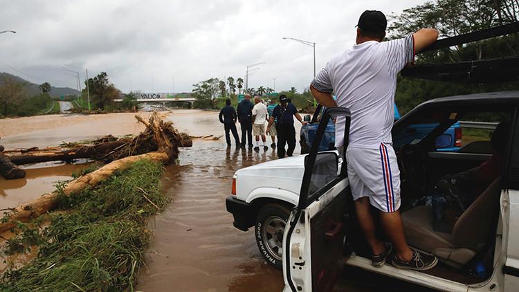 Situación de alto riesgo en Puerto Rico: Falla la presa de Guatajaca por el huracán María