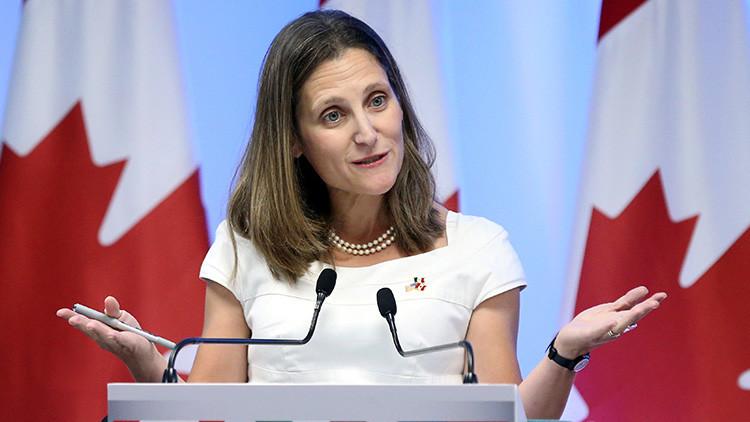 Canadá castiga a los dictadores en Venezuela con sanciones económicas