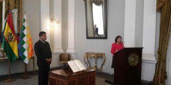 Posesionan a María Luisa Ramos como viceministra de Relaciones Exteriores