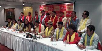 Revilla rechaza planes del MAS sobre repostulación e insta a líderes políticos a renovar filas