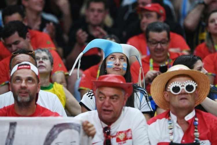Todos los aficionados que posean entradas deberán gestionar el Fan ID(AFP)