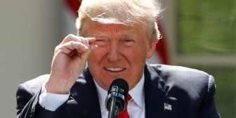 """Donald Trump volvió a amenazar a Kim Jong-un por el discurso del canciller norcoreano en la ONU: """"¡No estarán alrededor por mucho tiempo más!"""""""