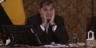 """Rafael Correa se siente """"totalmente traicionado"""" por Lenin Moreno"""