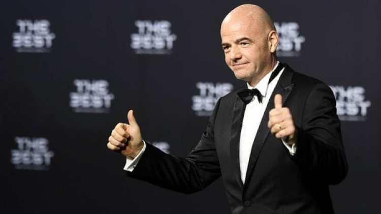 El presidente de la FIFA triunfó con su idea y se aprobó por unanimidad el nuevo formato del Mundial de Fútbol