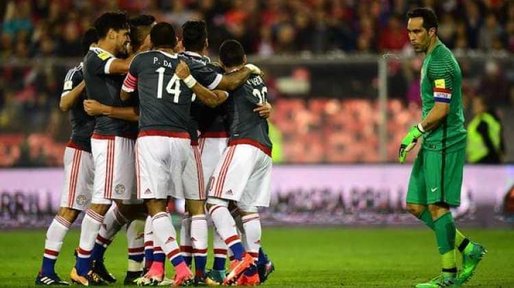 Paraguay goleó a Chile en la última doble fecha FIFA