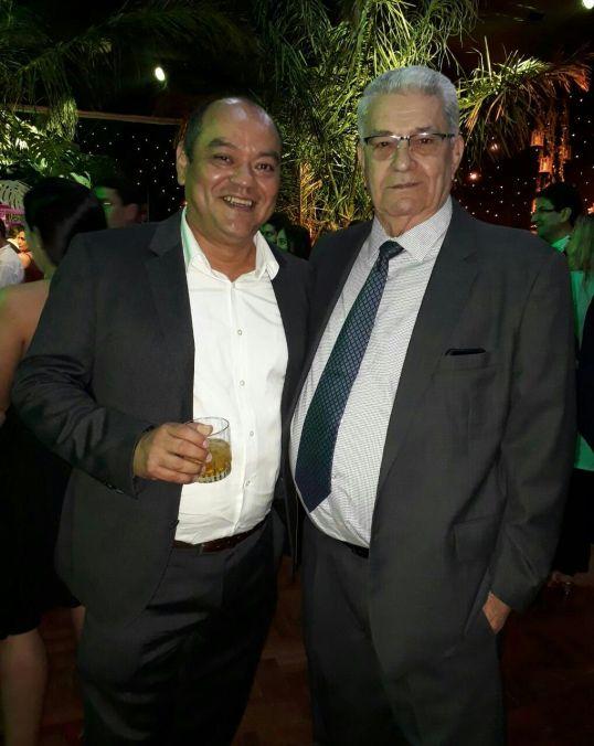 Waldo Iraola y Victor Hugo Suarez