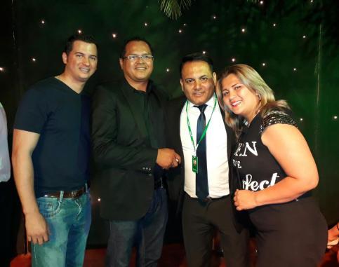 Marco Antelo, Rodolfo Gil, Miguel Angel Gutierrez y Yanine Justiniano