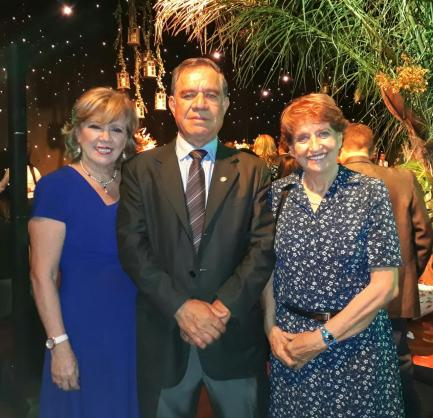 Elisabet Ferioli, Jaime Suarez y Yolanda Ernst