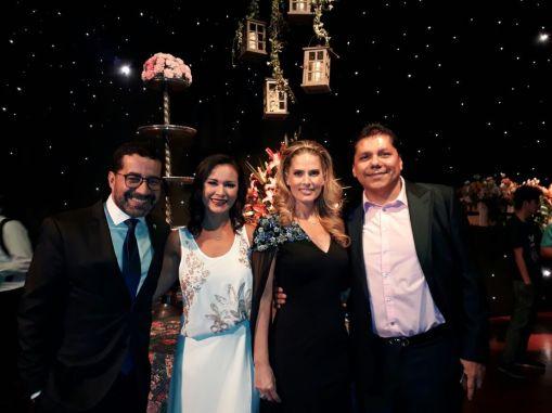 Saul Ortiz, Ximena Jimenez, Jimena Antelo y José Pomacusi