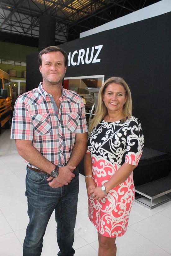 Enrique Pagola, gerente general Imcruz y María Inés Carrasco, gerenta nacional retail Imcruz