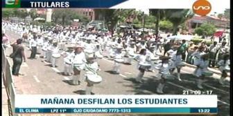 Video titulares de noticias de TV – Bolivia, mediodía del jueves 21 de septiembre de 2017