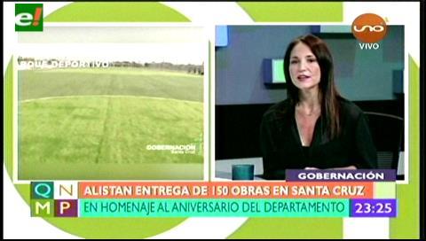 Alistan entrega de 150 obras en Santa Cruz