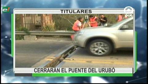 Video titulares de noticias de TV – Bolivia, noche del miércoles 20 de septiembre de 2017