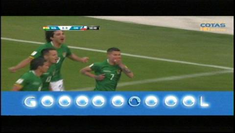 "Bolivia 1-0 Chile: ""Conejo"" Arce abre el marcador de tiro penal"
