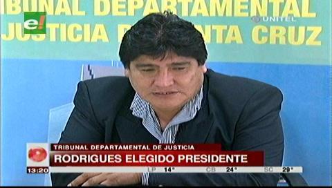 Zenón Rodríguez es el nuevo presidente del TDJ de Santa Cruz