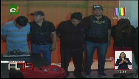 Cochabamba: Cae banda delictiva dedicada a robos a mano armada en casas