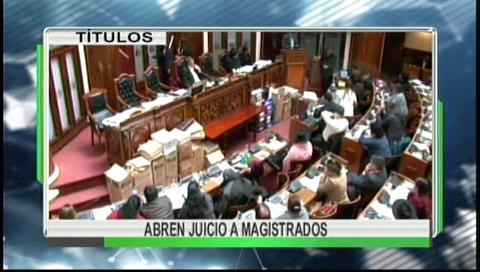 Video titulares de noticias de TV – Bolivia, mediodía del miércoles 13 de septiembre de 2017