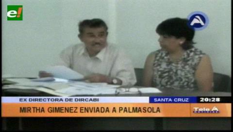 Santa Cruz: Envían a Palmasola a exdirectora de Dircabi