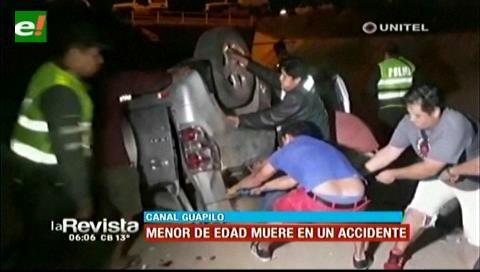 Canal Guapilo: Menor muere en accidente de tránsito