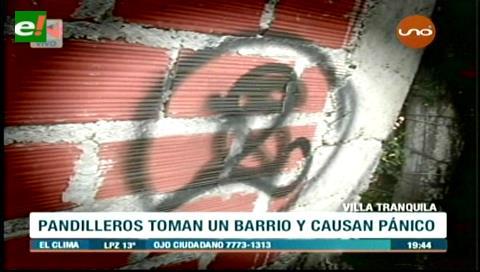 """Villa Tranquila convertida en un """"infierno"""" por las pandillas"""