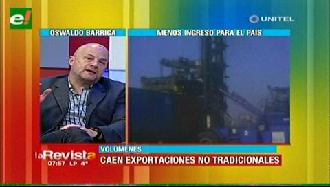 CADEX preocupada por caída en el volumen de exportación no tradicional