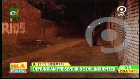 Vecinos denuncian robos en el barrio 12 de Diciembre