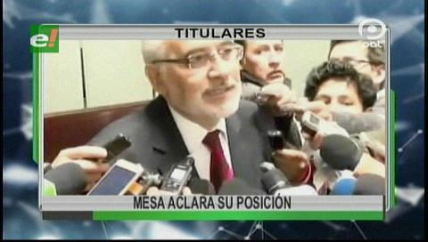 Video titulares de noticias de TV – Bolivia, noche del jueves 28 de septiembre de 2017