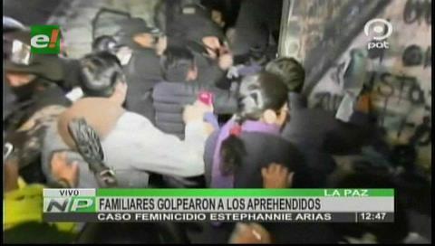 Familiares de Estephannie Arias golpearon a los acusados del asesinato