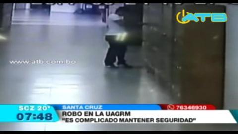 Se registran robos dentro de la UAGRM
