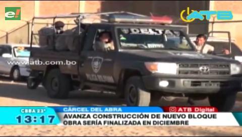 Avanza la construcción del nuevo bloque de la cárcel de El Abra
