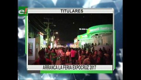 Video titulares de noticias de TV – Bolivia, noche del viernes 22 de septiembre de 2017