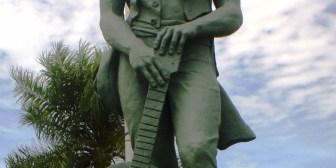 """Homenaje al coronel José Manuel Baca """"Cañoto"""""""