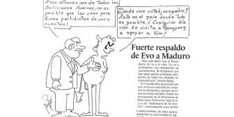 Caricaturas de Bolivia del jueves 21 de septiembre de 2017