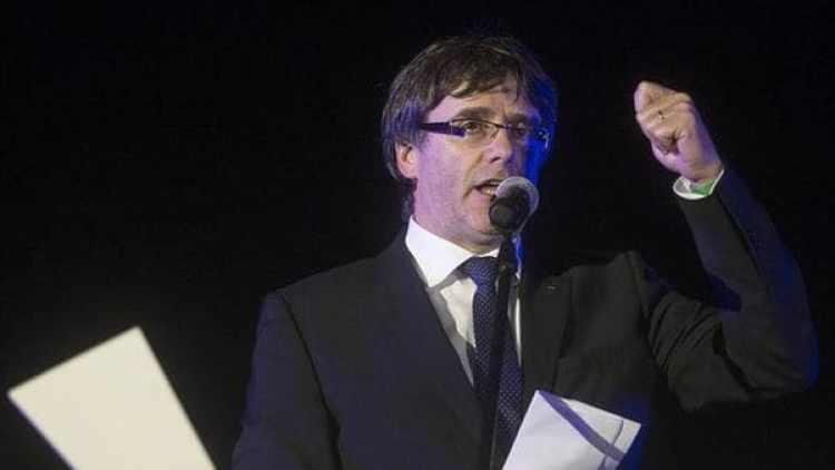 El presidente catalán, Carles Puigdemont, asegura que Cataluña se ha ganado el derecho a tener un Estado Independiente