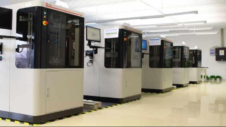 Uno de los 23 laboratorios que se encuentran en el Instituto de Investigación de Huawei en Beijing, que tienen una capacidad de prueba mensual de 40 millones de smartphones