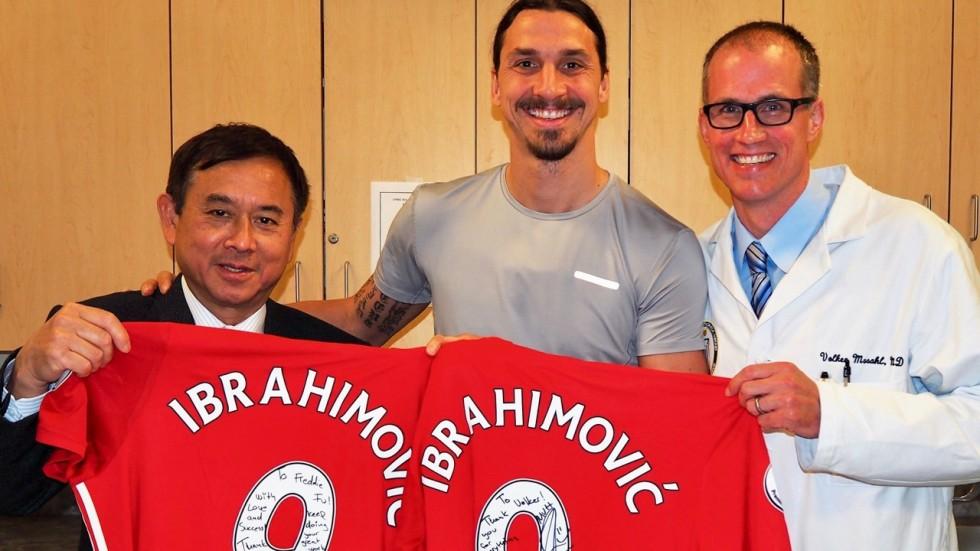 El médico de Ibrahimovic le recomienda no tener apuro